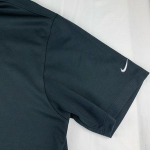 Nike Shirts - Nike golf shirt sleeve Polo shirt black XL